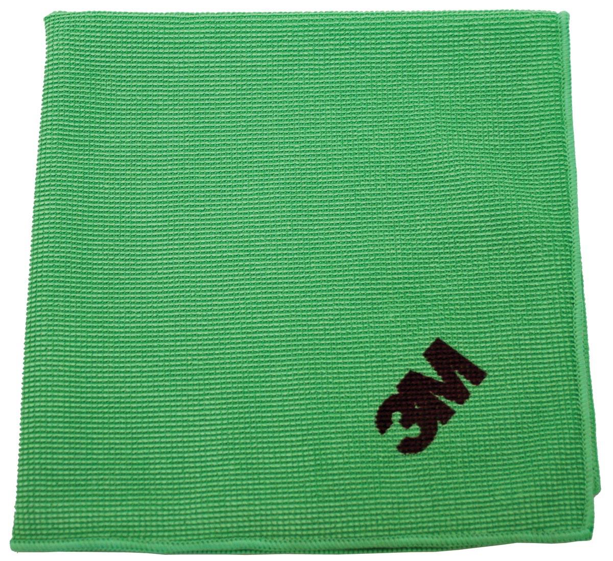 3M microvezeldoek, groen, pak van 10 stuks