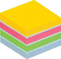 Post-it Notes Mini Kubus Ultra, 400 blaadjes, ft 51 x 51 mm