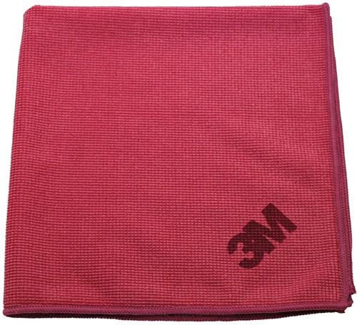 3M microvezeldoek, rood, pak van 10 stuks
