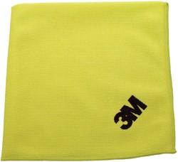 3M microvezeldoek, geel, pak van 10 stuks