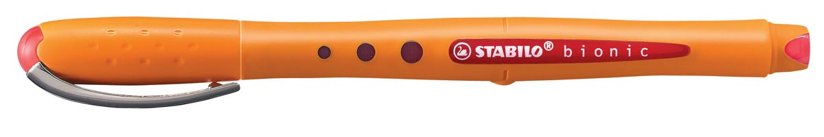 STABILO worker+ colourful roller, rood