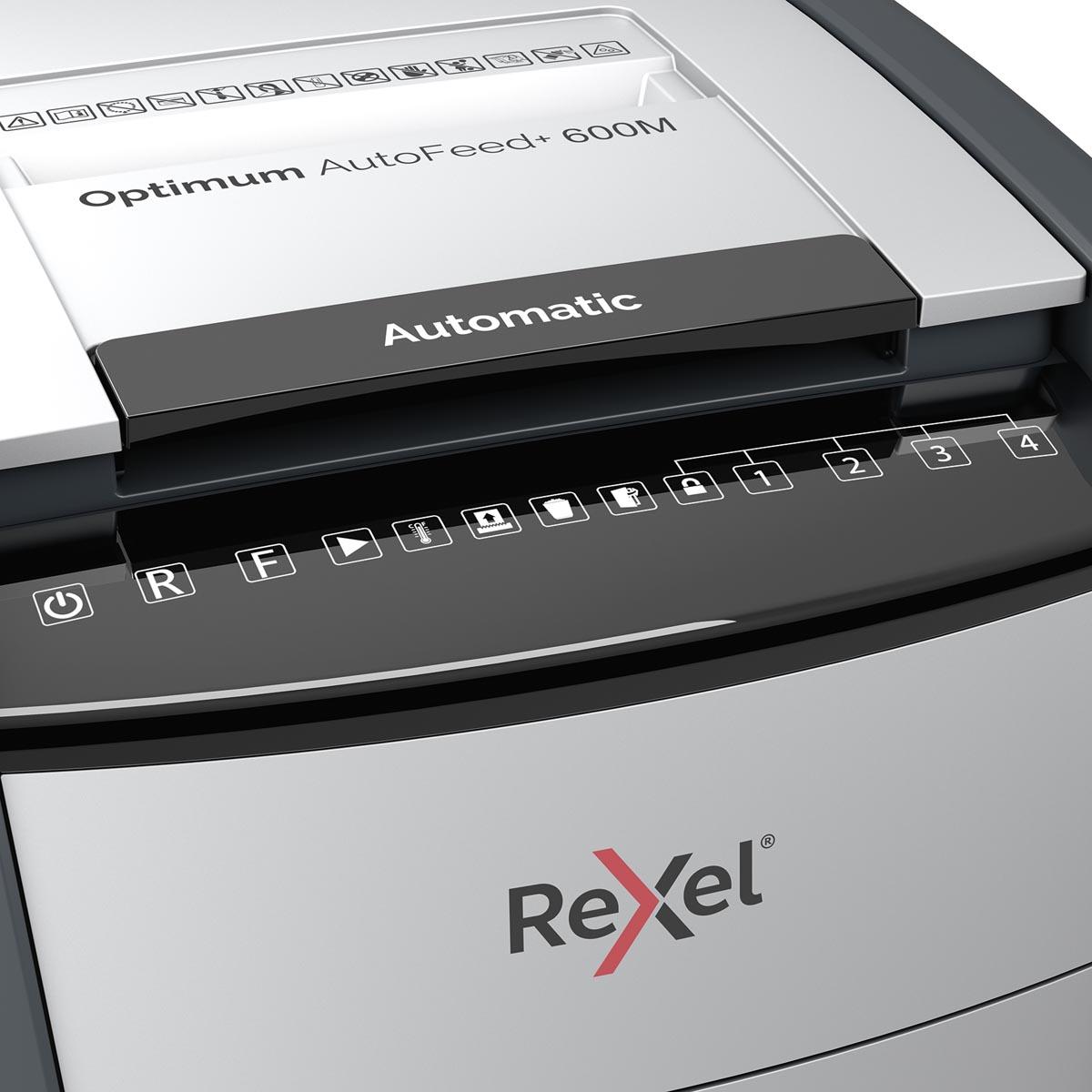 Rexel Optimum Auto+ 600M papiervernietiger