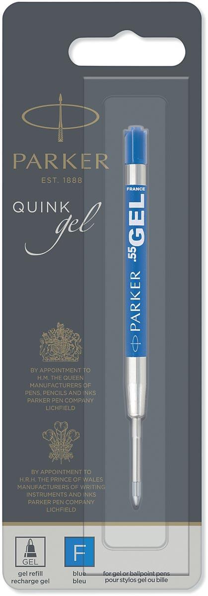 Parker Quink Gel vulling voor balpen fijn, blauw, op blister