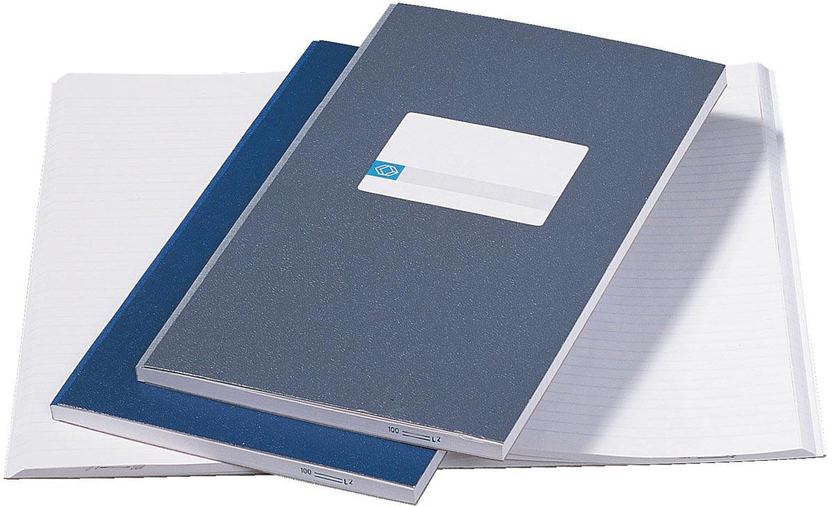 Notitieboek octavo Atlanta 2202251000 200blz grijs