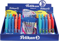 Pelikan Twist mix display met 80 stuks
