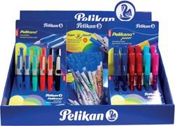 Pelikan Pelikano vulpen mix display met 74 stuks