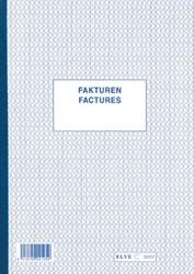 Factuurboek ft A4), tweetalig