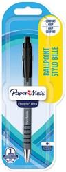 Paper Mate balpen Flexgrip Ultra RT medium, blister van 1 stuk, zwart