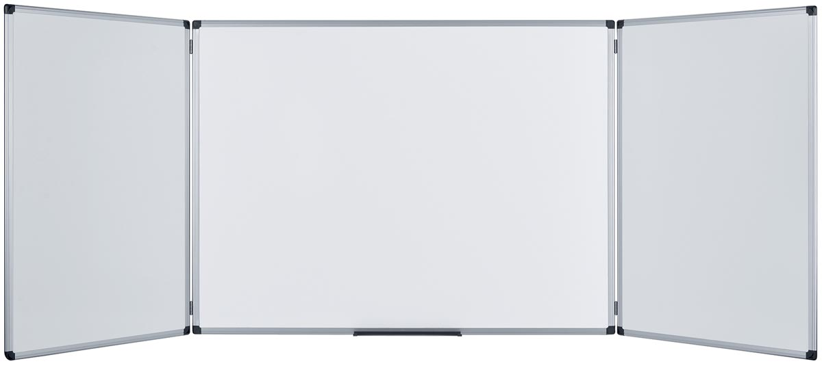 5 Star emaille whiteboard trio ft 120 x 90 cm