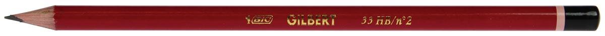 Bic potlood Gilbert blister van 2 stuks