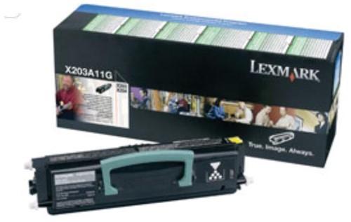 Lexmark Toner Kit return program - 2500 pagina's - X203A11G