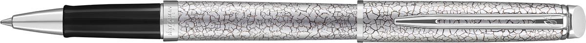 Waterman roller Hémisphère Deluxe Cracked met palladium detail