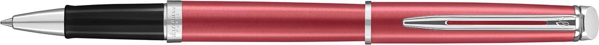 Waterman roller Hémisphère Coral Pink met palladium detail