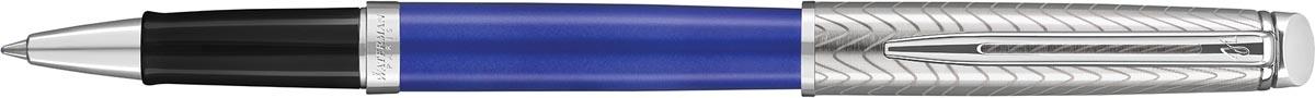 Waterman roller Hémisphère Deluxe Blue Wave met palladium detail