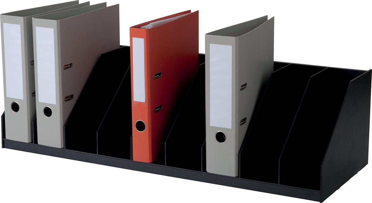 Paperflow sorteervak met vaste tussenschotten, 10 vakken, breedte 89,7 cm