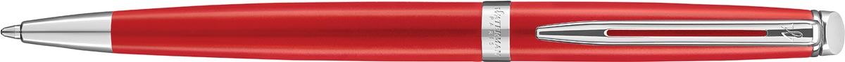 Waterman balpen Hémisphère Red Comet met palladium detail