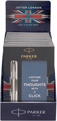 Parker giftbox Jotter balpen + notebook, display van ç stuks