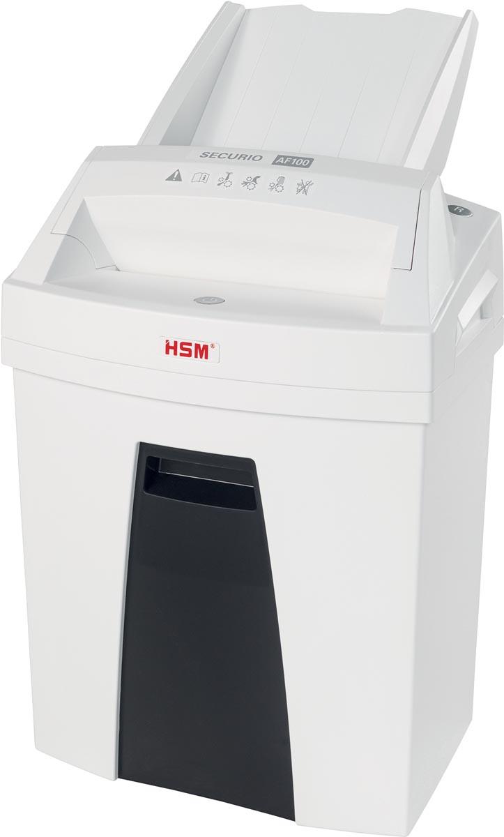 HSM SECURIO AF100 papievernietiger, 4 x 25 mm