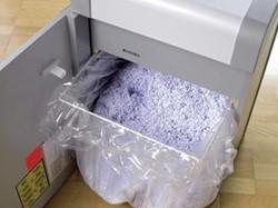 Dahle opvangzakken voor papiervernietigers met model 30404 t/m 30434, pak van 10 zakken