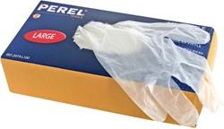 Perel wegwerphandschoenen, large, pak van 100 stuks