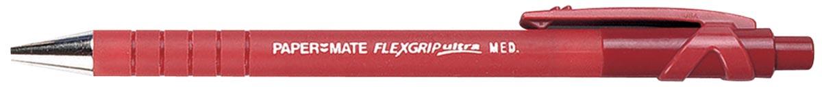 Paper Mate balpen Flexgrip Ultra RT medium, rood