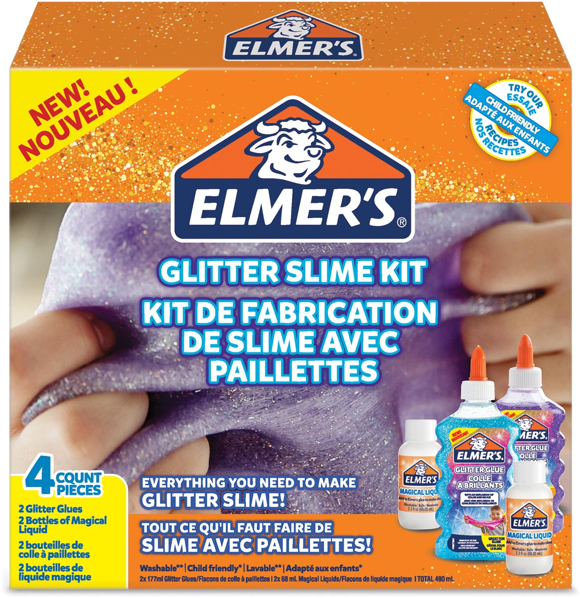 Elmer's slijmkit glitter