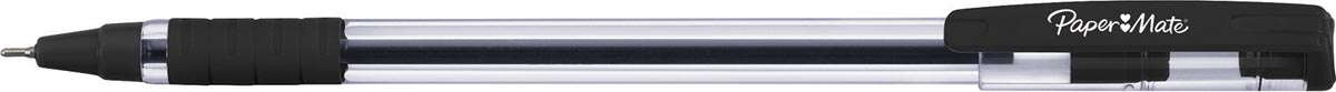 Paper Mate balpen Brite met comfortabele grip, fijn 0,7 mm, zwart