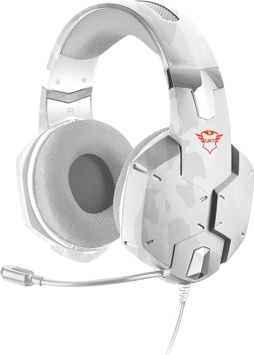 Trust GXT 322W Carus Gaming Headset, snow camo