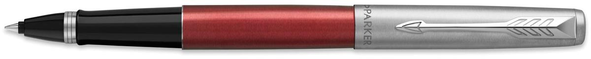 Parker Jotter rollerball Stainless Steel, medium, in giftbox, rood