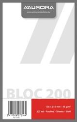 Kladblok ft 13,5 x 21 cm, effen