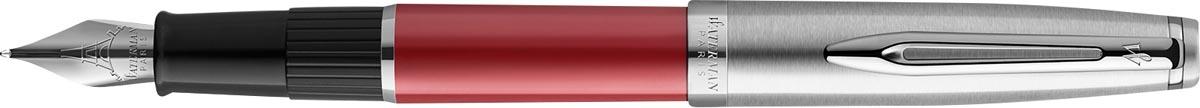 Waterman vulpen Embleme Red Chrome Trim met fijne punt