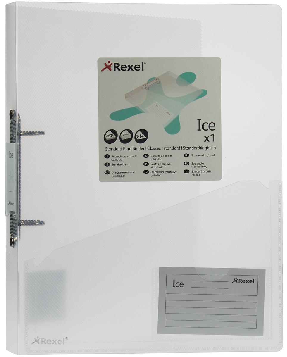 Rexel ringmap Ice transparant