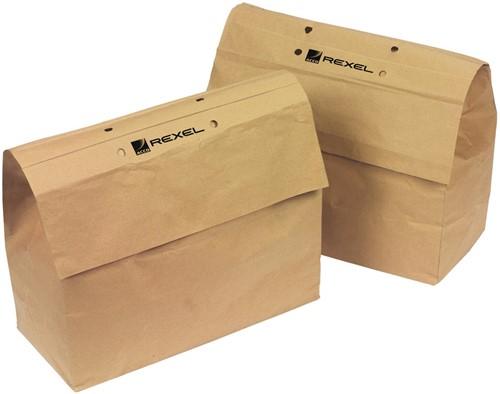 Rexel recycleerbare opvangzakken voor papiervernietigers 30 l, voor RSS2030 en RSX1630, pak van 20 zakken