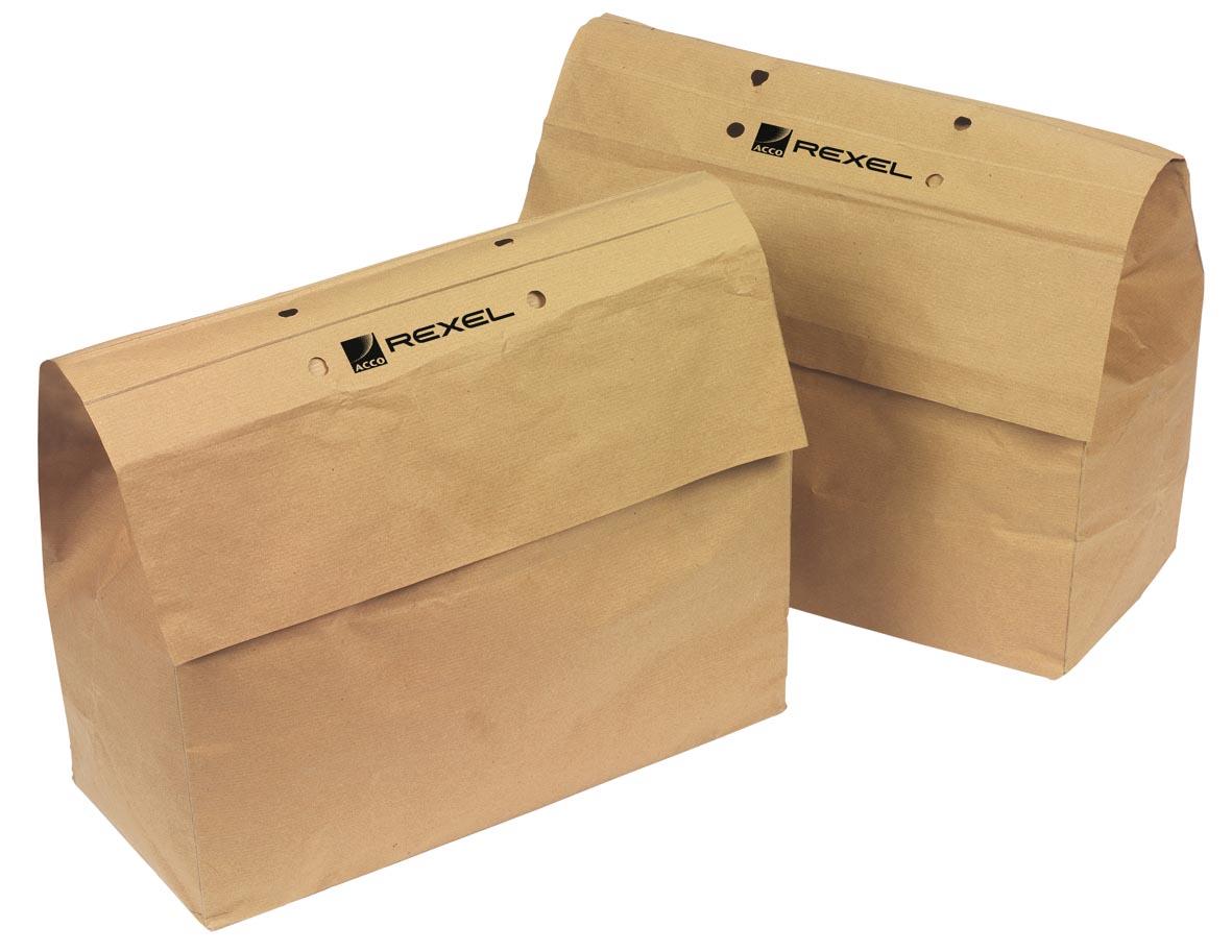 Rexel recycleerbare opvangzakken voor papiervernietigers 30 l, voor RSS2030 en RSX1630, pak van 20 z