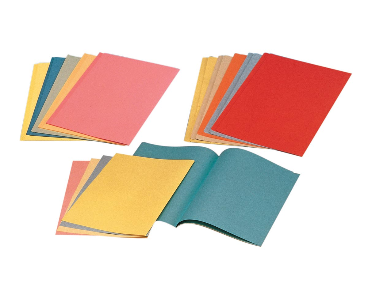 Esselte dossiermap blauw, papier van 80 g/m², pak van 250 stuks