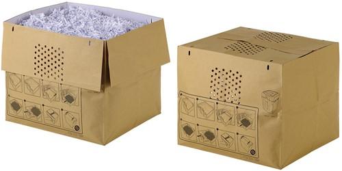 Rexel recycleerbare opvangzakken voor papiervernietiger Auto+ 500X papiervernietiger, pak van 50 zakken