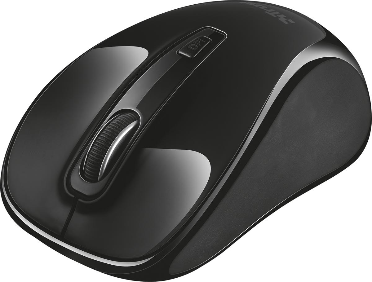 Trust Xani draadloze muis met Bluetooth-technologie, zwart