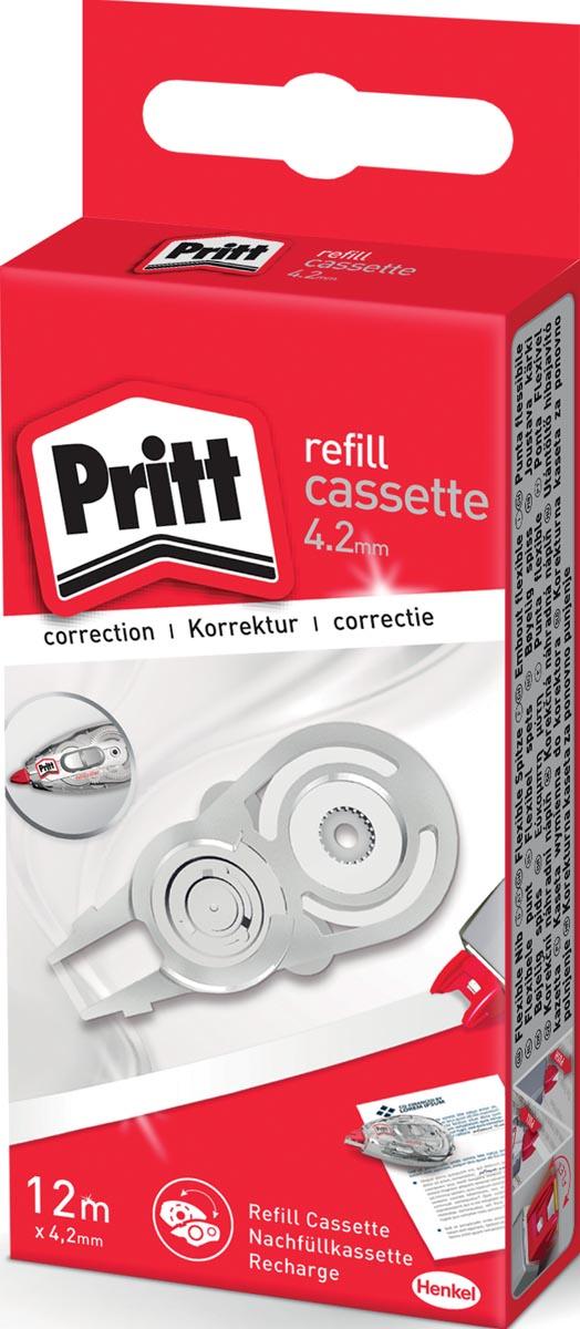 Pritt vulling voor correctieroller Refill Flex 4,2 mm x 12 m, in ophangdoosje
