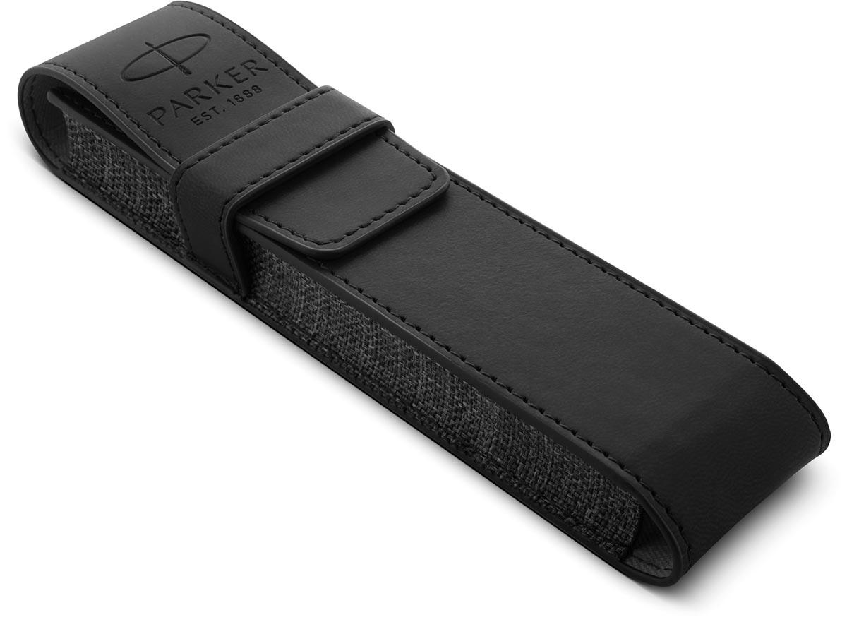 Parker giftbox Sonnet balpen + pen pouch, zwart GT