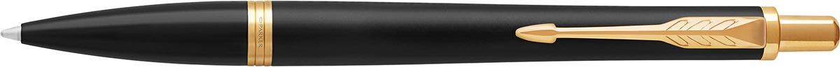 Parker giftbox Urban balpen + pen pouch, zwart GT