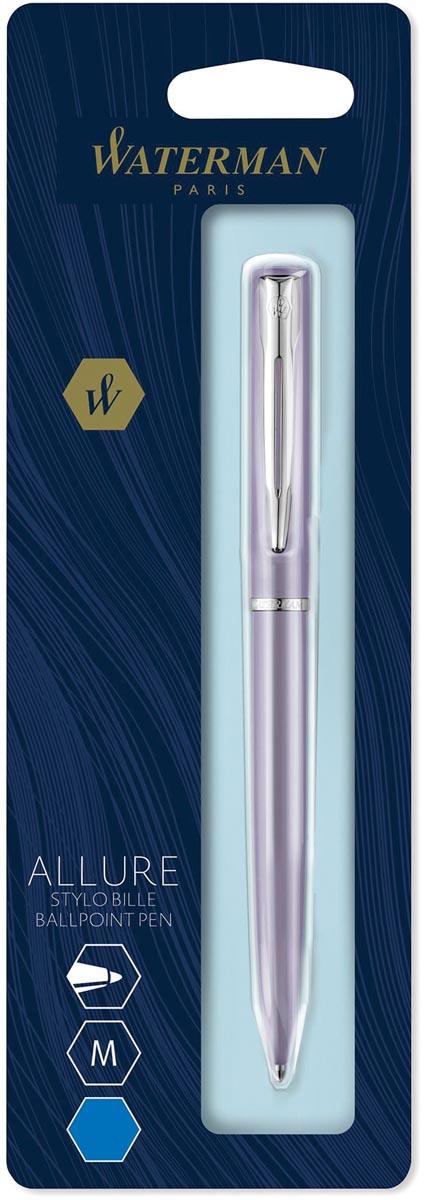 Waterman balpen Allure pastel medium punt, op blister, paars