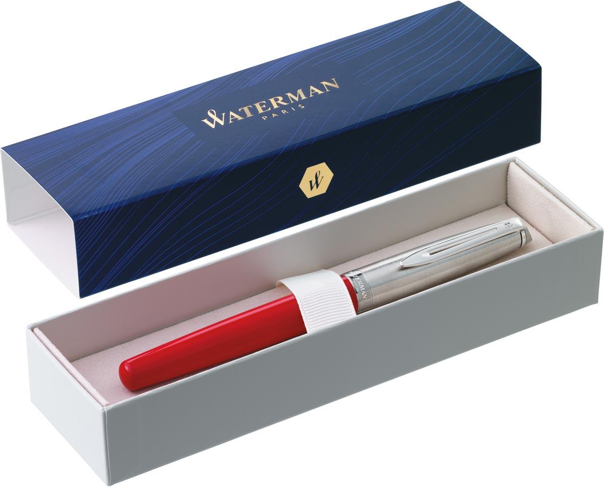Waterman Emblème 2.0 CT vulpen, fijne punt, rood