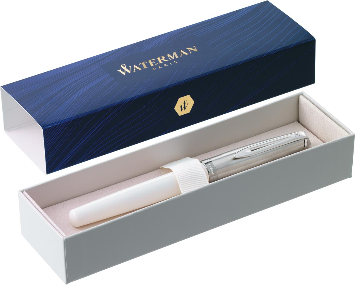 Waterman Emblème 2.0 CT vulpen, fijne punt, ivoor