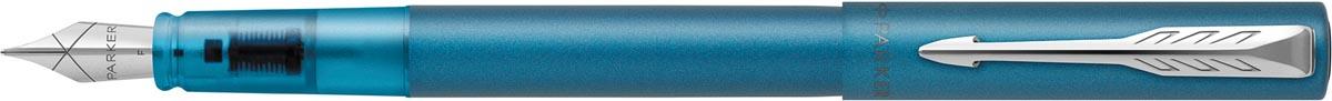 Parker vulpen Vector XL, fijn, in giftbox, Teal (groen/blauw)