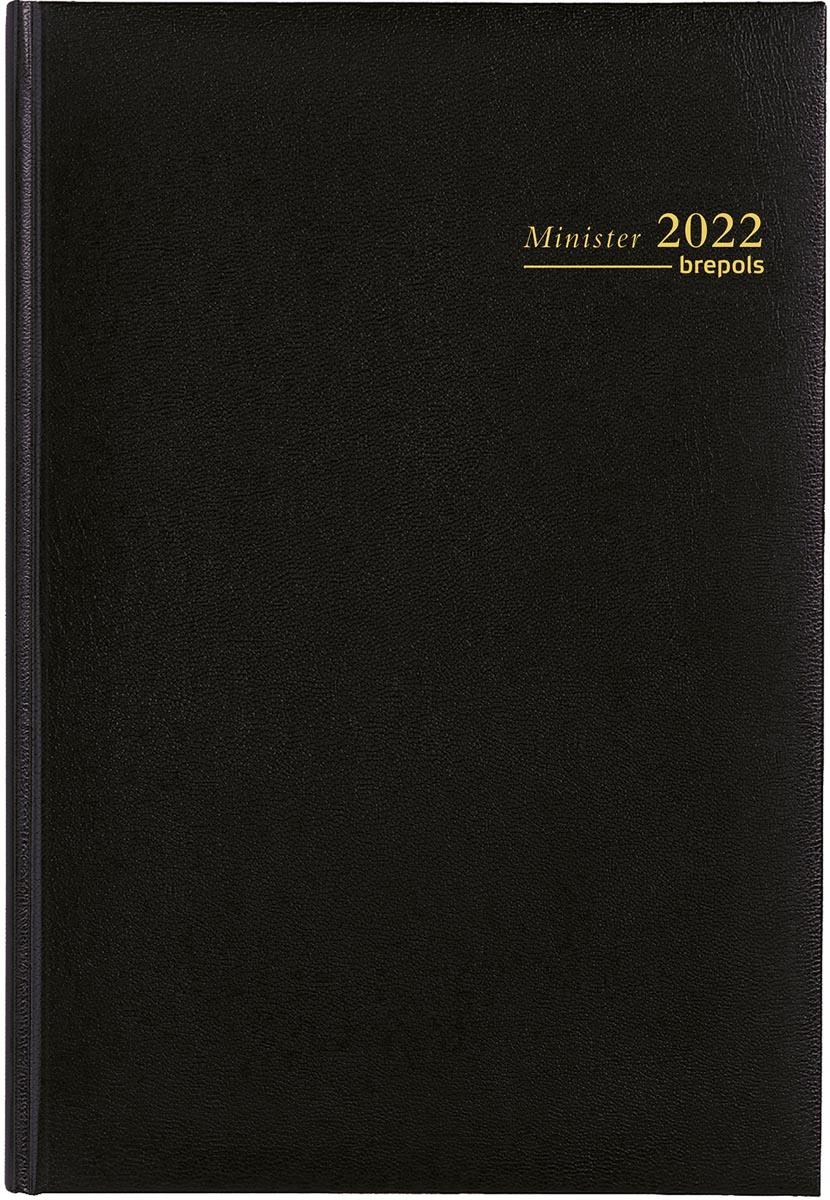 Brepols Minister Lima, zwart, 2022