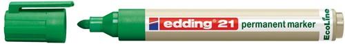 Edding permanent marker Ecoline e-21 groen
