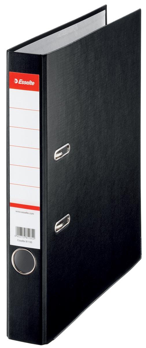 Esselte kartonnen ordner ft A4, rug van 5 cm, zwart