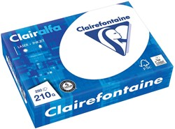 Clairefontaine Clairalfa presentatiepapier ft A4, 210 g, pak van 250 vel