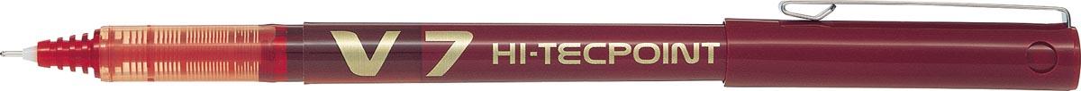 Pilot roller Hi-Tecpoint V7 schrijfbreedte 0,4 mm rood
