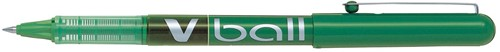 Pilot liquid-ink roller V-Ball V5, groen